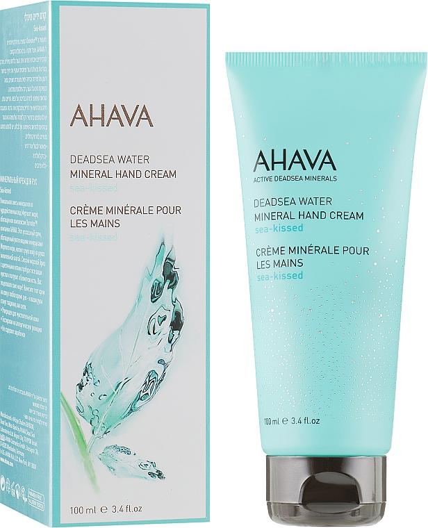 "Крем для рук минеральный ""Поцелуй моря"" - Ahava Deadsea Water Mineral Hand Cream Sea-Kissed"