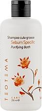 Духи, Парфюмерия, косметика Шампунь для жирных волос - Teotema Care Sebum Specific Bath Shampoo