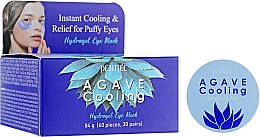 Парфумерія, косметика Гідрогелеві охолоджувальні патчі для очей з екстрактом агави - Petitfee Agave Cooling Hydrogel Eye Mask