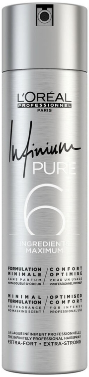 Лак для волос - L'Oreal Professionnel Infinium Pure Extra Strong