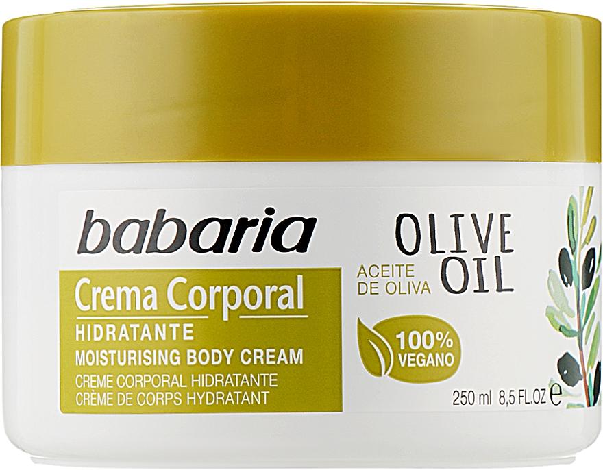 Крем для тела 100% оливковое масло - Babaria Olive Oil Nourishing Body Cream