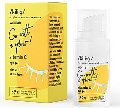 Духи, Парфюмерия, косметика Гель для кожи вокруг глаз с витамином С - Kili·g Woman Eye Gel