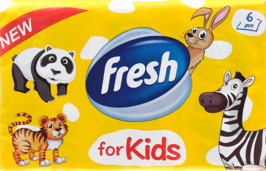 """Сухие салфетки """"For Kids"""" - Fresh"""