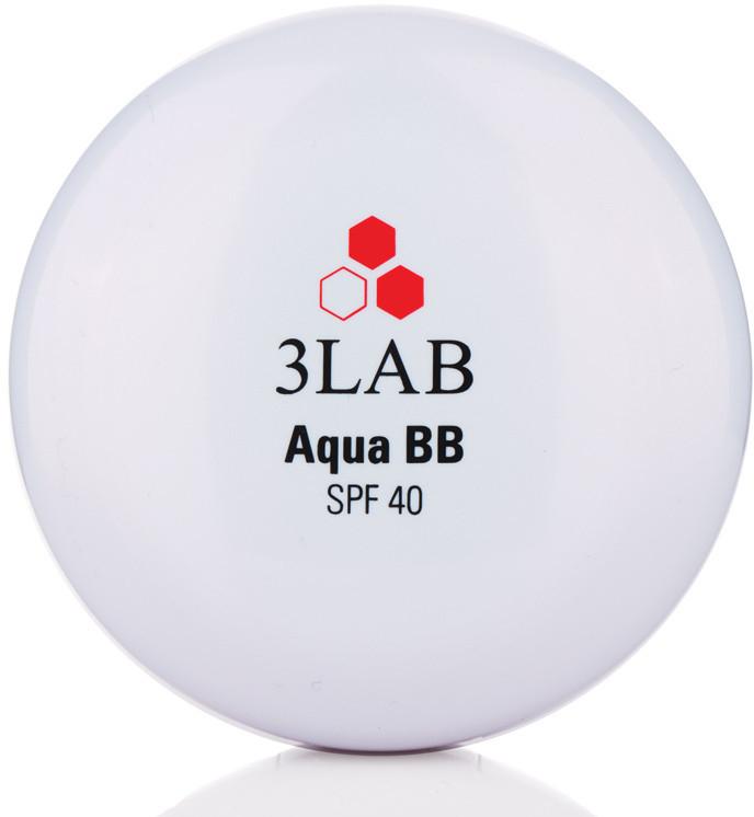 Компактный BB-крем для лица с запасным блоком - 3Lab Aqua BB Cream SPF40