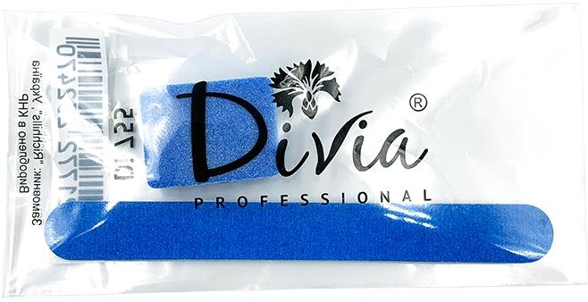 """Одноразовый набор для маникюра """"Пилка + баф"""" - Divia Di755"""