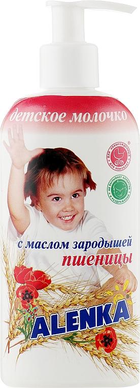 Детское молочко с маслом зародышей пшеницы - Alenka