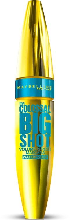 Тушь для ресниц водостойкая - Maybelline New York The Colossal Big Shot Waterproof Mascara