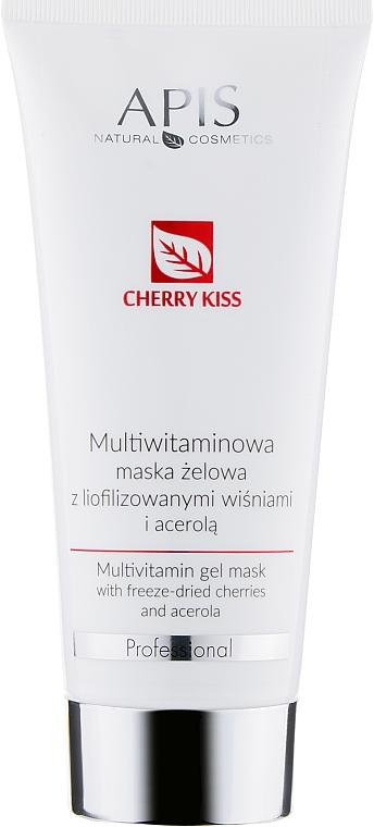 Мультивитаминная маска для лица с сублимированной вишней и ацеролой - APIS Professional Cheery Kiss