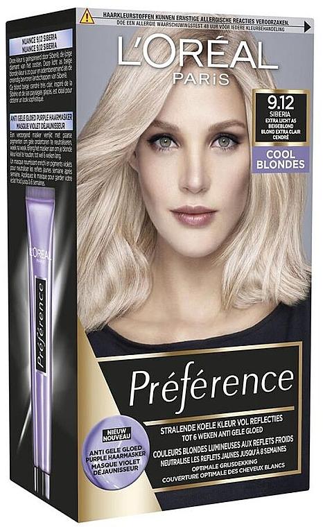 Краска для волос - L'Oreal Paris Preference Cool Blondes