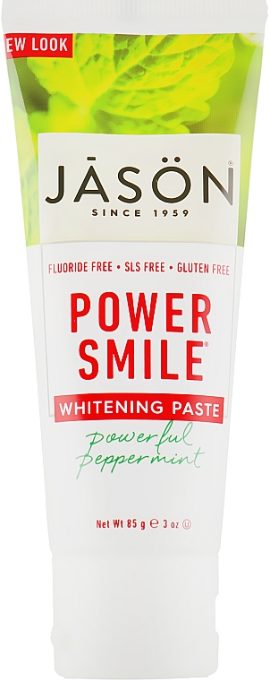 "Зубная паста отбеливающая без фтора ""Сила улыбки"" - Jason Natural Cosmetics"