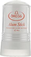 Духи, Парфюмерия, косметика Натуральные квасцы, 49001 - Omega Alum Stick