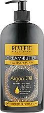 Духи, Парфюмерия, косметика Крем-масло для рук и тела 5 в 1 - Revuele Argan Oil Cream-Butter
