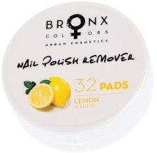 Духи, Парфюмерия, косметика Салфетки для снятия лака - Bronx Colors Nail Polish Remover Pads Lemon