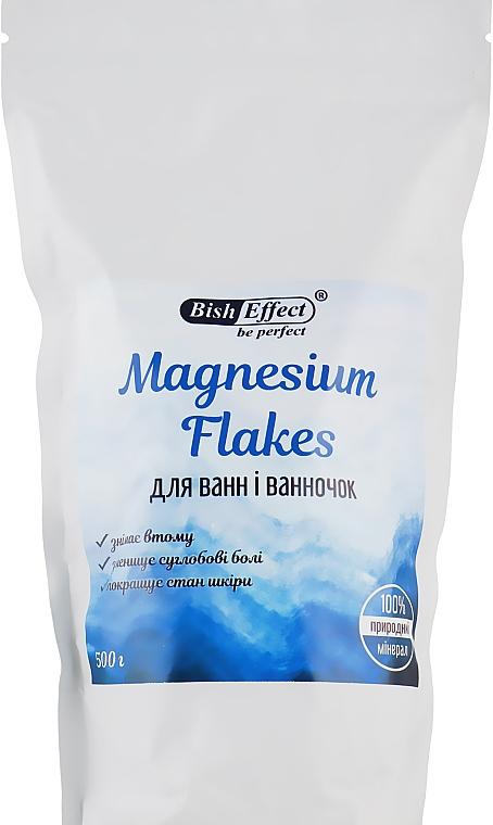 """Кристаллический концентрат для ванны """"Магниевые хлопья"""" - Bisheffect Magnesium Flakes"""