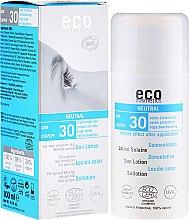 Духи, Парфюмерия, косметика Солнцезащитный лосьон без запаха - Eco Cosmetics Sun Lotion SPF 30