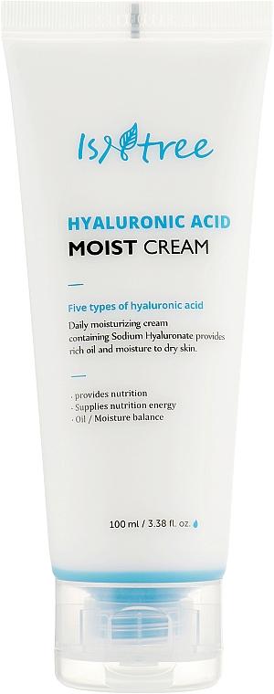 Крем для глубокого увлажнения кожи - Isntree Hyaluronic Acid Moist Cream