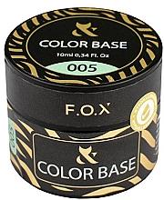 Духи, Парфюмерия, косметика Камуфлирующая цветная база - F.O.X Base Color