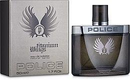 Духи, Парфюмерия, косметика Police Wings Titanium Men - Туалетная вода