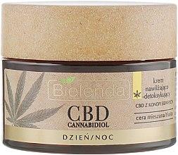 Крем для жирной и комбинированной кожи - Bielenda CBD Cannabidiol Moisturizing & Detoxifying Cream — фото N2