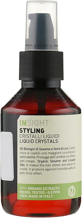 Жидкие кристаллы с органическим кунжутным и льняным маслом - Insight Styling Liquid Crystals
