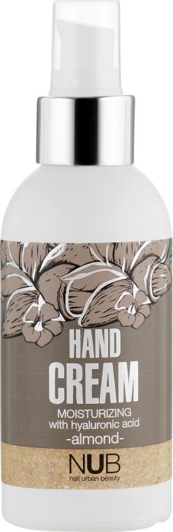 Увлажняющий крем для рук - NUB Moisturizing Hand Cream Almond
