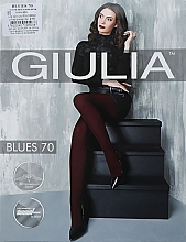 """Парфумерія, косметика Колготки для жінок """"Blues 3D"""" 70 Den, blackberry - Giulia"""