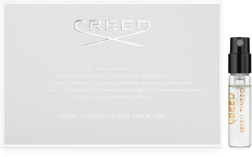 Creed Green Irish Tweed - Туалетная вода (пробник)