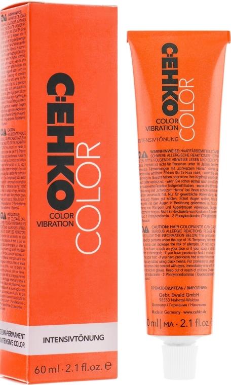 Крем тонирующий без аммиака с пчелиным воском и протеином шёлка - C:EHKO Color Vibration