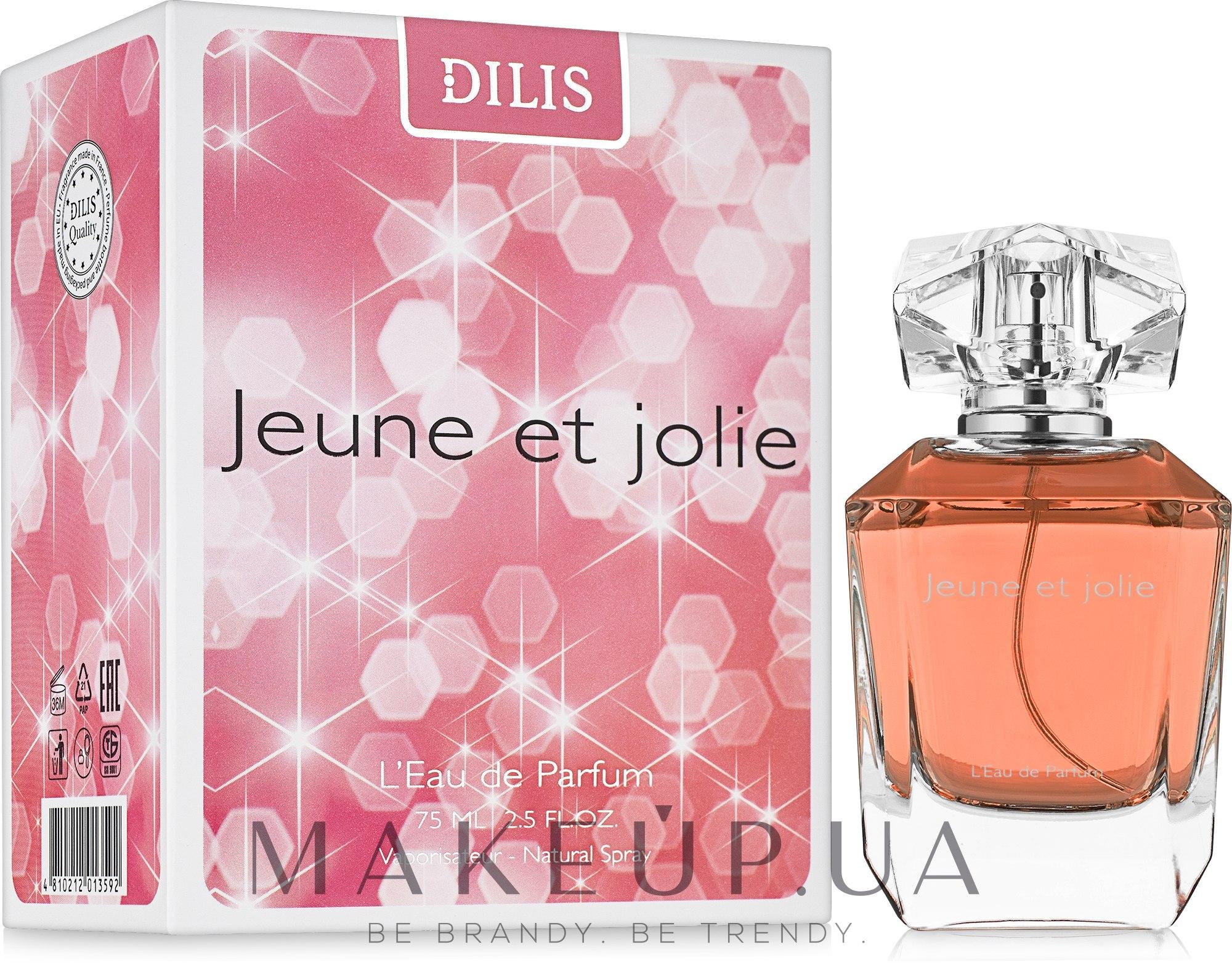 Dilis Parfum Aromes Pour Femme Jeune et Jolie - Парфюмированная вода — фото 75ml