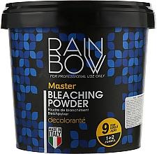 Духи, Парфюмерия, косметика Голубой порошок для осветления волос - Rainbow Professional Master Bleaching Powder