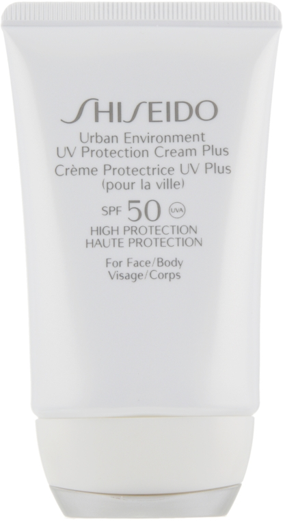 Увлажняющий, защитный крем - Shiseido Urban Environment UV Protection Cream Plus SPF 50