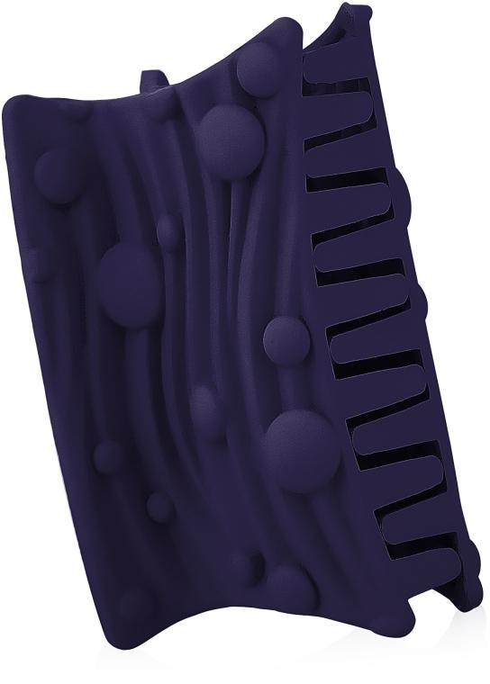 """Крабик для волос """"Волна"""", d-842, фиолетовый - Dini Matte Style"""