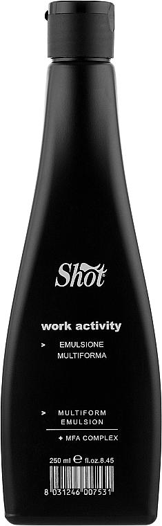 Эмульсия для гладкой прически - Shot Work Activity Multiform Emulsion