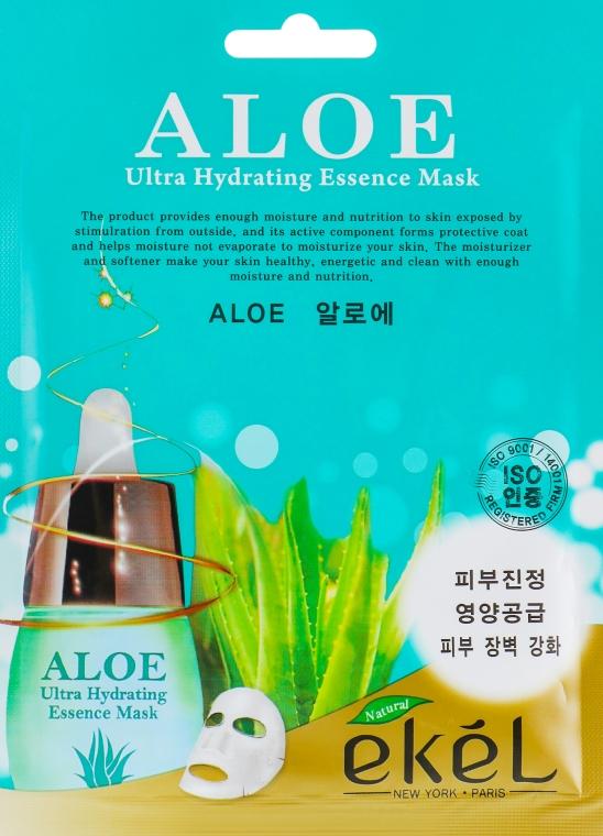 Тканевая маска с экстрактом Алоэ - Ekel Aloe Mask