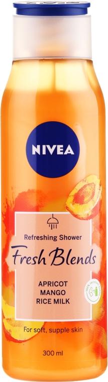 "Гель для душа ""Манго, абрикос и рисовое молоко"" - Nivea Fresh Blends Refreshing Shower Apricot Mango Rice Milk"