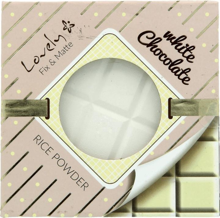Пудра для лица - Lovely White Chocolate Rice Powder