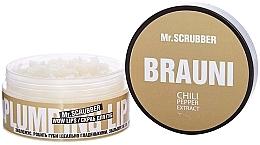 "Духи, Парфюмерия, косметика Скраб для губ ""Брауни"" - Mr.Scrubber Plumping Lip Scrab Wow Lips Brauni"