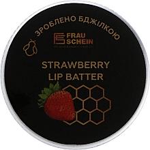 "Духи, Парфюмерия, косметика Баттер для губ ""Клубника"" - Frau Schein Lip Batter Strawberry"