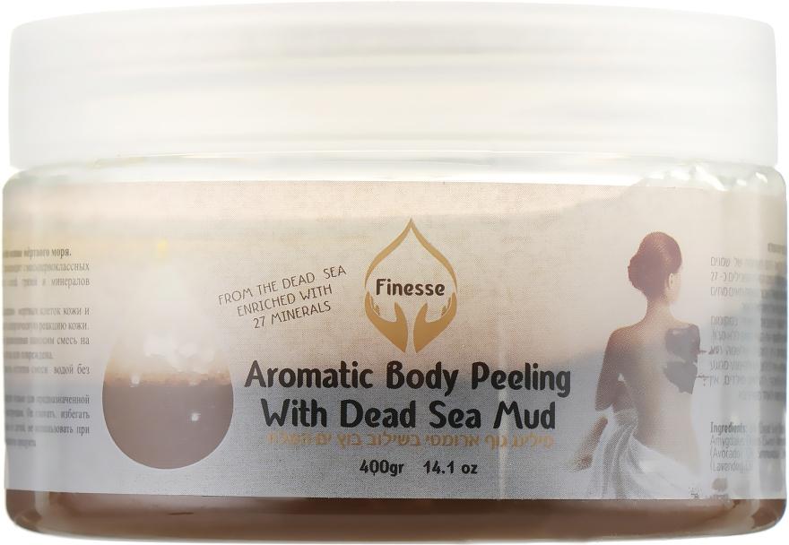 Ароматический пилинг для тела на основе мертвого моря - Finesse Aromatic Body Peeling With Dead Sea Mud