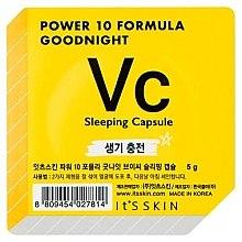 Духи, Парфюмерия, косметика Ночная маска-капсула тонизирующая - It's Skin Power 10 Formula Goodnight Sleeping Capsule VC