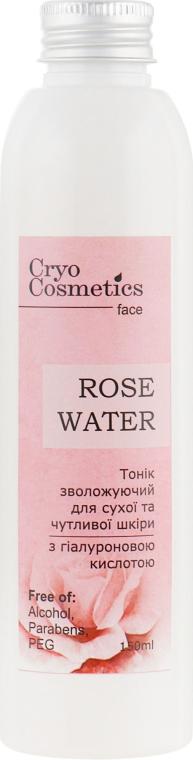 Тоник для сухой и чувствительной кожи - Cryo Cosmetics Rose Water