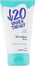 Духи, Парфюмерия, косметика Отшелушивающий гель для умывания 4 в 1 - Under Twenty Anti! Acne Cleansing Gel 4 in 1