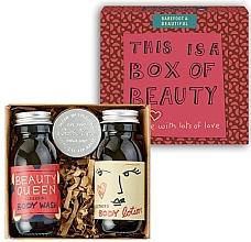 Духи, Парфюмерия, косметика Набор - Bath House Barefoot & Beautiful Box of Beauty Bodycare Gift Set