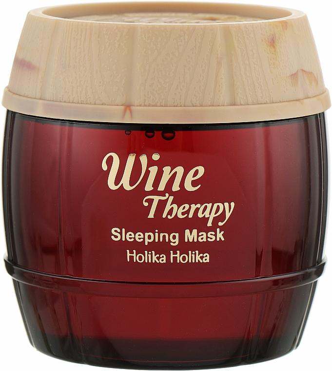 Нічна відновлююча маска-желе - Holika Holika Wine Therapy Sleeping Mask — фото N1