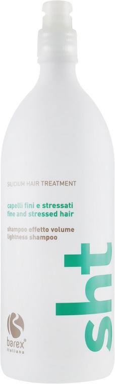 Шампунь минеральный для объема - Barex Italiana Silicium Hair Treatment Lightness Shampoo