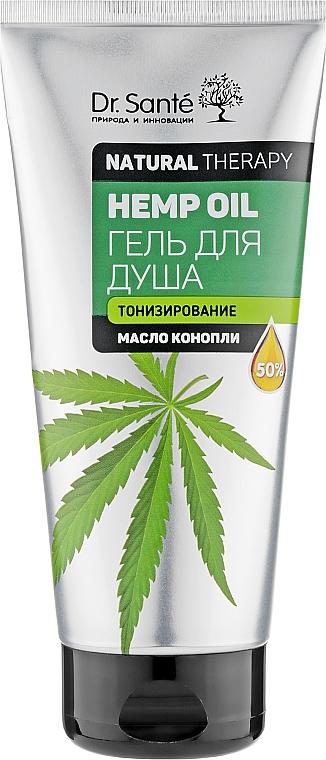 """Гель для душа """"Тонизирование"""" - Dr. Sante Natural Therapy Hemp Oil"""