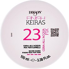 Духи, Парфюмерия, косметика Водный фиксирующий воск для волос - Dikson Finish Keiras 23 Water Based Fixing Wax For Hair