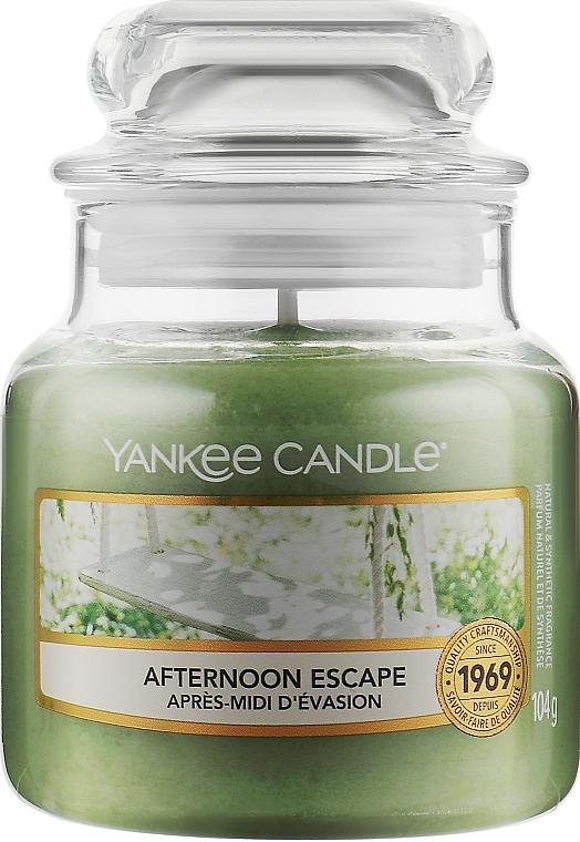 Ароматическая свеча в банке - Yankee Candle Afternoon Escape