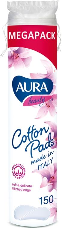 Ватные диски, 150шт - Aura Beauty Cotton Pads