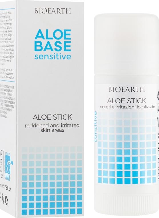 Успокаивающий стик для раздраженной кожи - Bioearth Aloebase Sensative